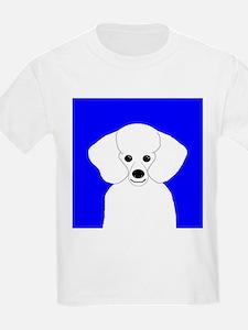 Poodle (White) T-Shirt