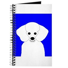 Poodle (White) Journal