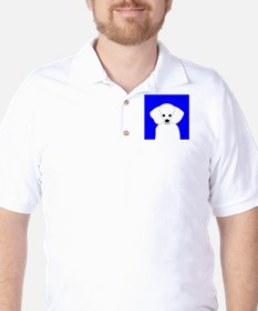 Poodle (White) T-Shirt