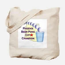 Phoenix Beer Pong City Champi Tote Bag