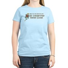 God Created Maine Coons T-Shirt