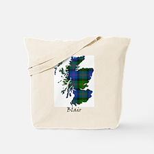 Map - Blair Tote Bag