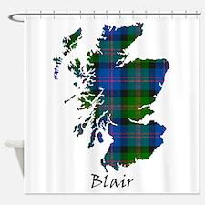 Map - Blair Shower Curtain