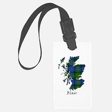 Map - Blair Luggage Tag