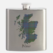 Map - Blair Flask