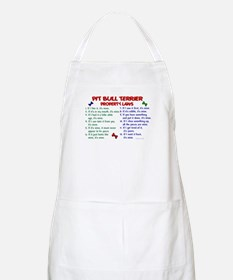 Pit Bull Terrier Property Laws 2 BBQ Apron