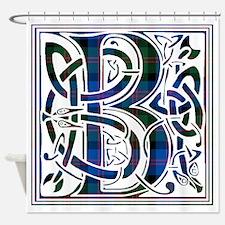 Monogram - Blair Shower Curtain