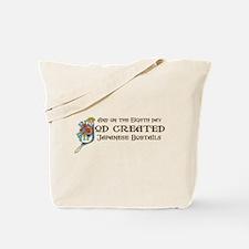 God Created Bobtails Tote Bag