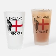 England Cricket Drinking Glass