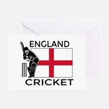 England Cricket Greeting Card