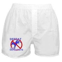 Defeat Defeatist Democrats Boxer Shorts