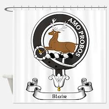 Badge - Blair Shower Curtain