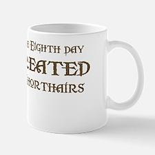 God Created Shorthairs Mug