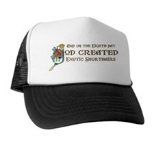 God Created Shorthairs Trucker Hat