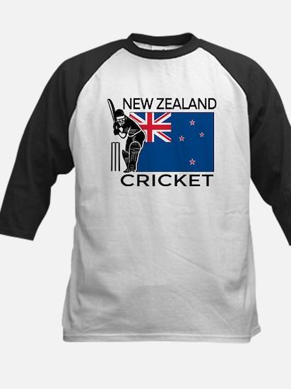 New Zealand Cricket Kids Baseball Jersey