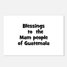 Blessings  to  the  Mam peopl Postcards (Package o