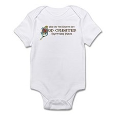 God Created Maus Infant Bodysuit
