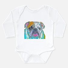 Bulldog in Color Body Suit