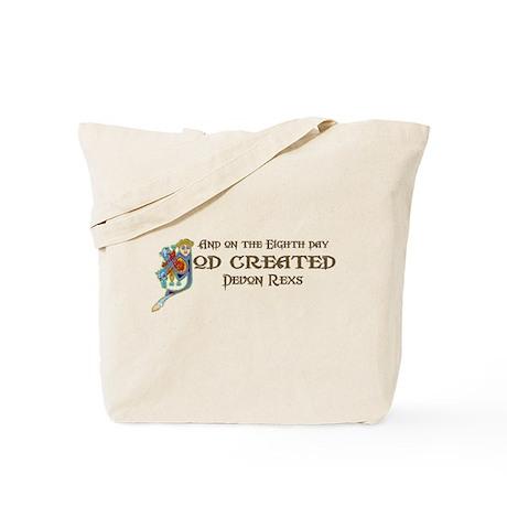God Created Devons Tote Bag