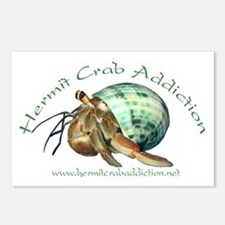 Hermit Crab Addiction Postcards (Package of 8)