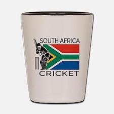 south africa cricket & Shot Glass