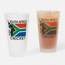 south africa cricket & Drinking Glass