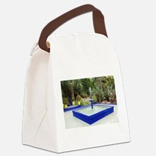 Laurent Canvas Lunch Bag