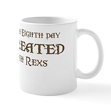 God Created Rexs Mug