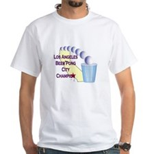 Los Angeles Beer Pong City Ch Shirt