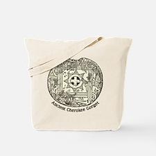 Ancient Cherokee Gorget Tote Bag
