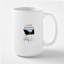 I Love Montana Mugs