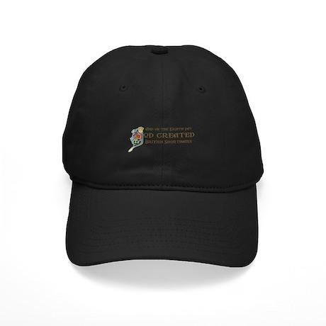 God Created Shorthairs Black Cap