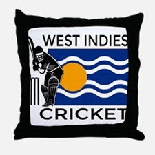 West Indies Cricket Throw Pillow