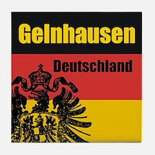 Gelnhausen Deutschland Tile Coaster