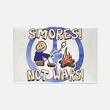 Make S'mores Not Wars! Rectangle Magnet