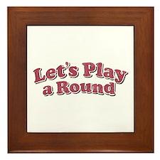 let's play Framed Tile