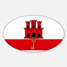Flag Of Gibraltar Decal
