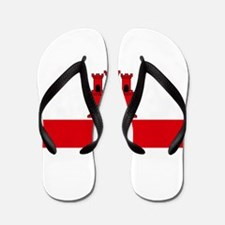 Flag Of Gibraltar Flip Flops