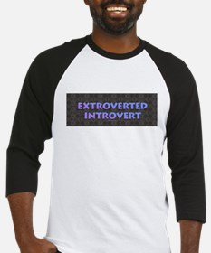 Extroverted Introvert Baseball Jersey