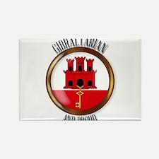Gibraltar Proud Flag Button Magnets
