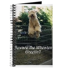 Beware the Wheaten Greetin' Journal