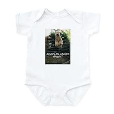 Beware the Wheaten Greetin' Infant Bodysuit