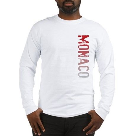 Monaco Stamp Long Sleeve T-Shirt