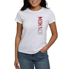 Monaco Stamp Women's T-Shirt