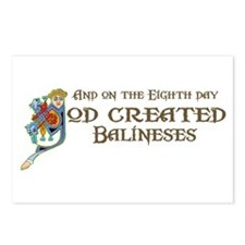 God Created Balineses Postcards (Package of 8)