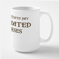 God Created Balineses Large Mug