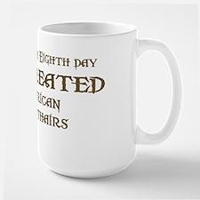 God Created Shorthairs Large Mug