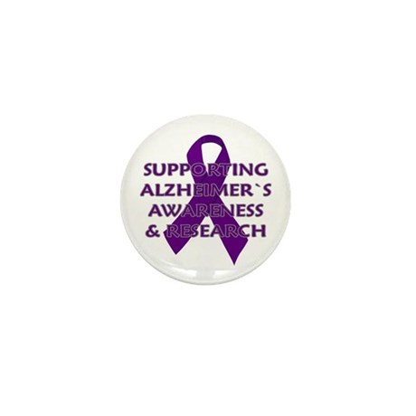 ...Alzheimer`s... Mini Button