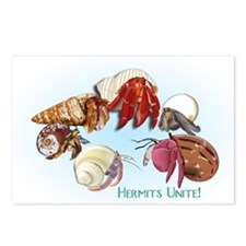 Hermits Unite! Postcards (Package of 8)