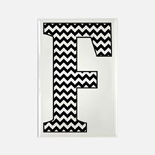 Cute Monograms Rectangle Magnet